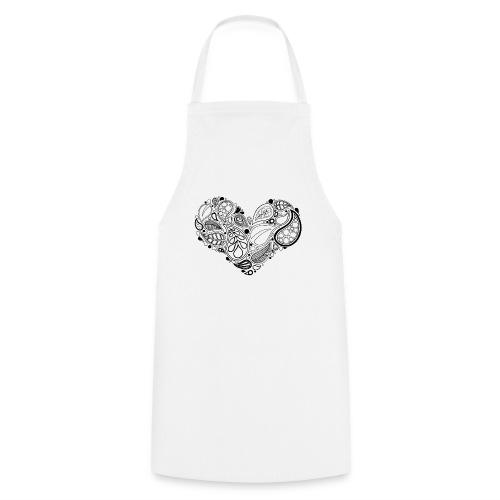 Leaf Heart Mandala - Cooking Apron