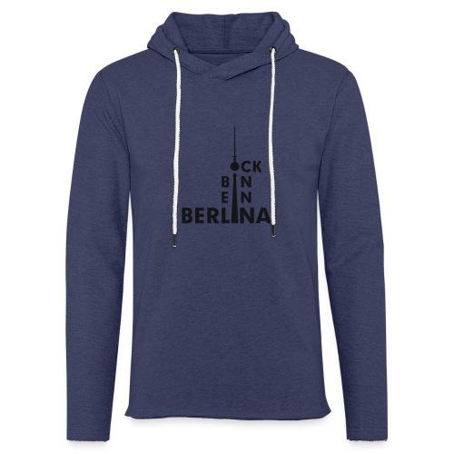 Ick bin ein Berlina - Leichtes Kapuzensweatshirt Unisex