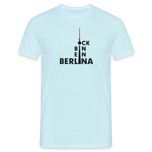 Ick bin ein Berlina - Männer T-Shirt