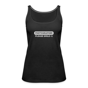 Photographer – Please Smile - Frauen Premium Tank Top