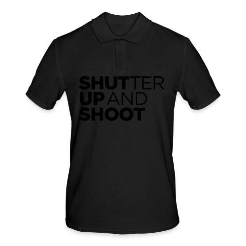 SHUTTER UP AND SHOOT - Männer Poloshirt