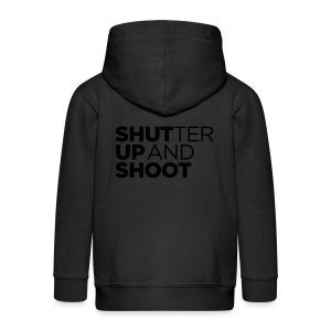 SHUTTER UP AND SHOOT - Kinder Premium Kapuzenjacke