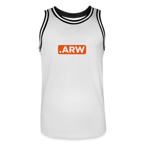 I SHOOT ARW - Männer Basketball-Trikot