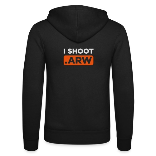 I SHOOT ARW - Unisex Kapuzenjacke von Bella + Canvas