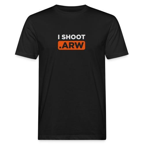 I SHOOT ARW - Männer Bio-T-Shirt
