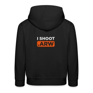 I SHOOT ARW - Kinder Premium Hoodie