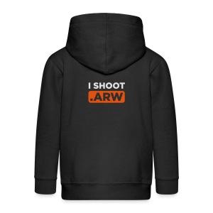 I SHOOT ARW - Kinder Premium Kapuzenjacke