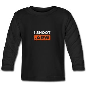 I SHOOT ARW - Baby Langarmshirt