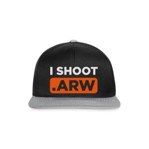 I SHOOT ARW - Snapback Cap