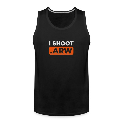 I SHOOT ARW - Männer Premium Tank Top