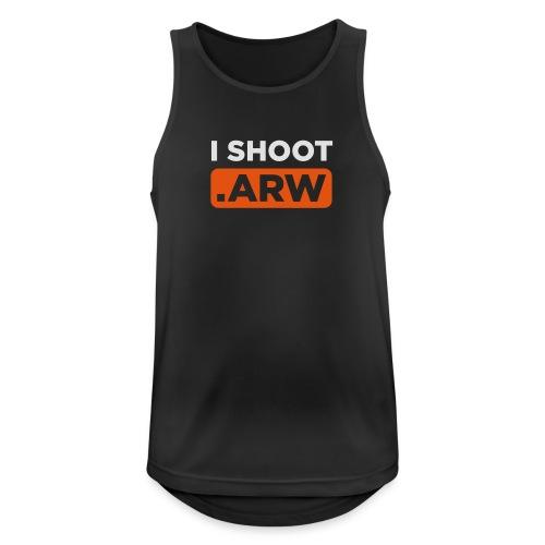I SHOOT ARW - Männer Tank Top atmungsaktiv