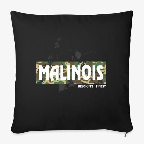 Malinois Camouflage Hoodie - Sofakissenbezug 44 x 44 cm