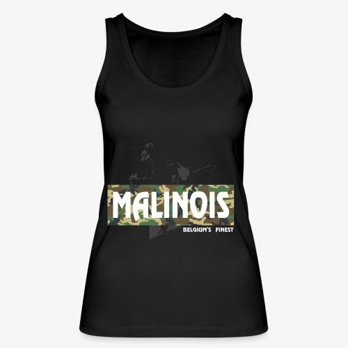 Malinois Camouflage Hoodie - Frauen Bio Tank Top von Stanley & Stella
