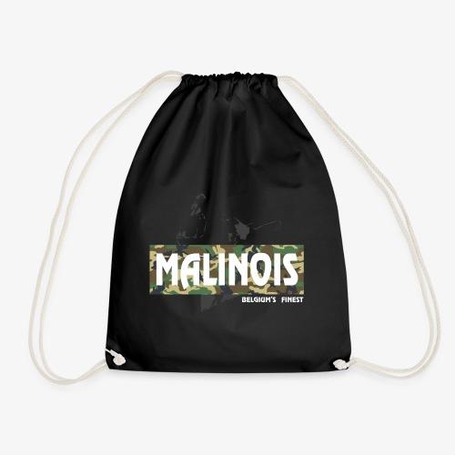 Malinois Camouflage Hoodie - Turnbeutel