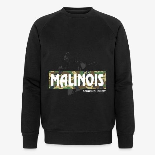 Malinois Camouflage Hoodie - Männer Bio-Sweatshirt von Stanley & Stella