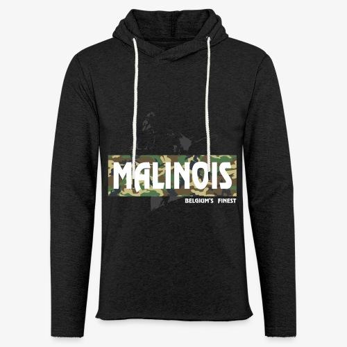 Malinois Camouflage Hoodie - Leichtes Kapuzensweatshirt Unisex
