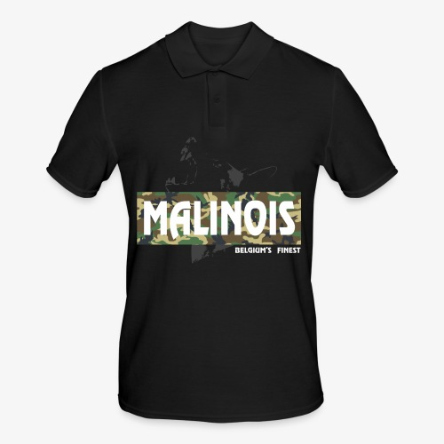 Malinois Camouflage Hoodie - Männer Poloshirt