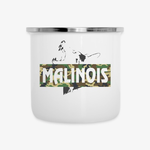 Malinois Camouflage Hoodie - Emaille-Tasse