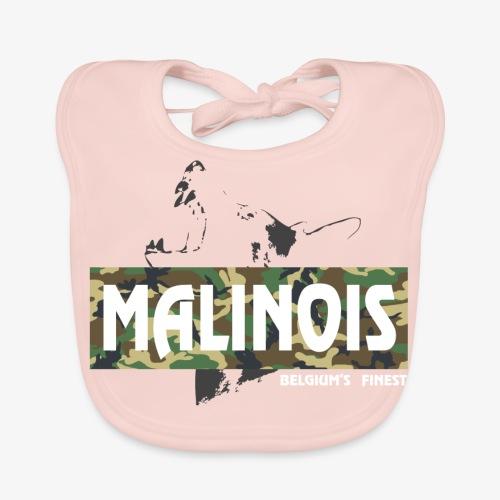 Malinois Camouflage Hoodie - Baby Bio-Lätzchen