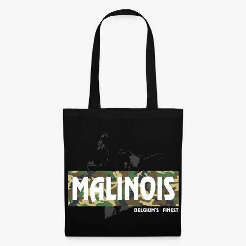 Malinois Camouflage Hoodie - Stoffbeutel