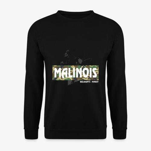 Malinois Camouflage Hoodie - Männer Pullover