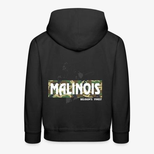 Malinois Camouflage Hoodie - Kinder Premium Hoodie