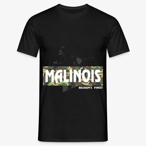 Malinois Camouflage Hoodie - Männer T-Shirt