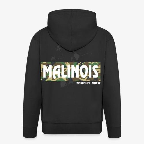 Malinois Camouflage Hoodie - Männer Premium Kapuzenjacke