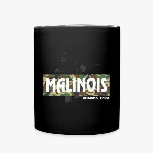 Malinois Camouflage Hoodie - Tasse einfarbig