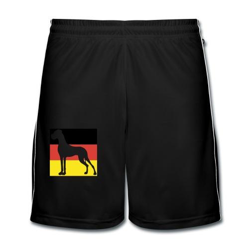 D - DD in sehr groß - Männer Fußball-Shorts