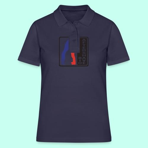 Bio Aftershave white / black - Frauen Polo Shirt