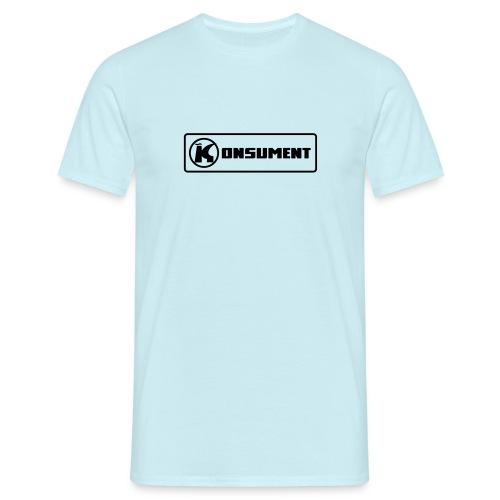 Konsument - Männer T-Shirt