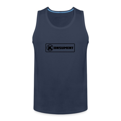 Konsument - Männer Premium Tank Top