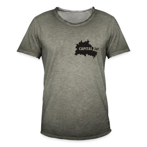 CAPITAList - Hauptstädter - Männer Vintage T-Shirt