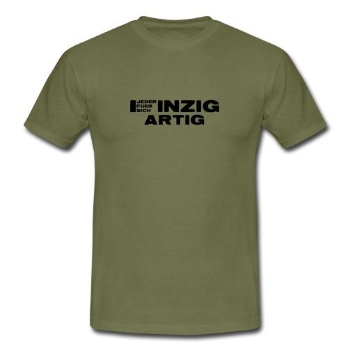 EINZIGARTIG - Jeder für sich - Männer T-Shirt