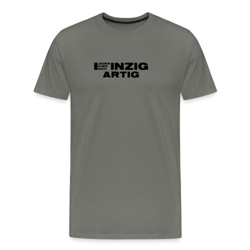 EINZIGARTIG - Jeder für sich - Männer Premium T-Shirt
