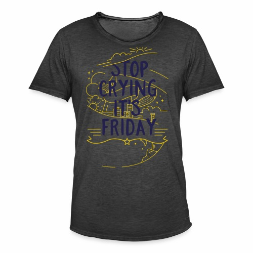 It´s Friday - Männer Vintage T-Shirt