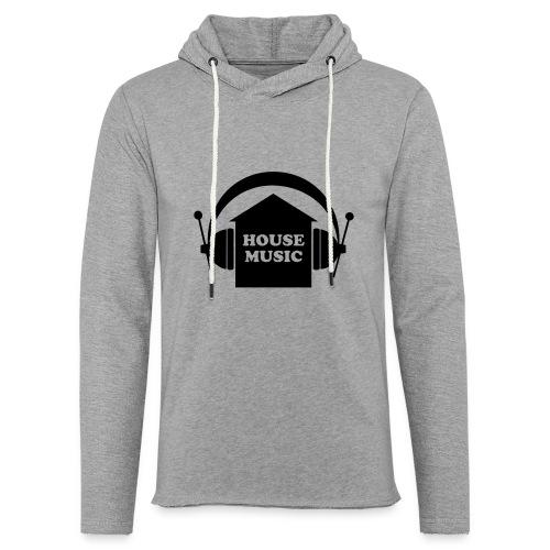 House music - Leichtes Kapuzensweatshirt Unisex