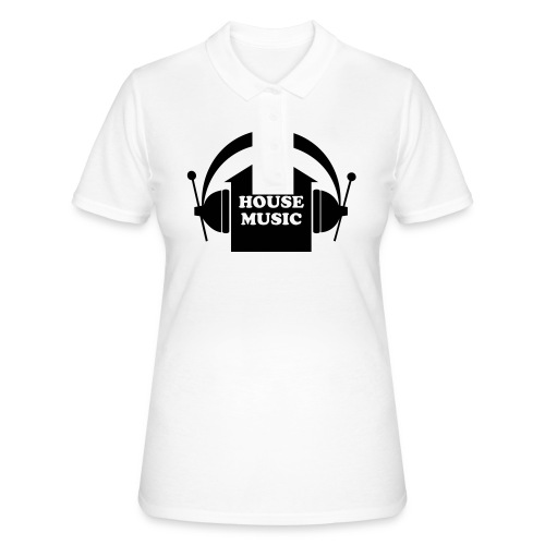 House music - Frauen Polo Shirt