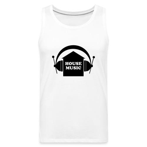 House music - Männer Premium Tank Top