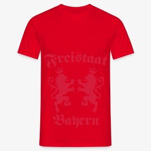 Freistaat Bayern Bavaria Löwen Königreich Kochschürze - Männer T-Shirt