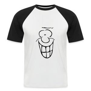 MIMIK - fröhlich - Männer Baseball-T-Shirt