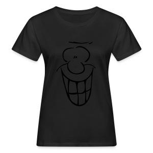 MIMIK - fröhlich - Frauen Bio-T-Shirt