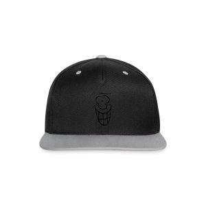 MIMIK - fröhlich - Kontrast Snapback Cap