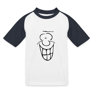 MIMIK - fröhlich - Kinder Baseball T-Shirt