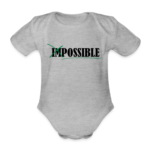 Im_Possible - Baby Bio-Kurzarm-Body