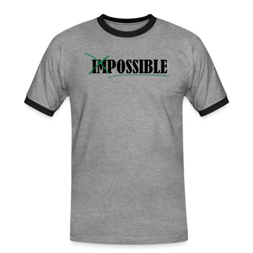 Im_Possible - Männer Kontrast-T-Shirt