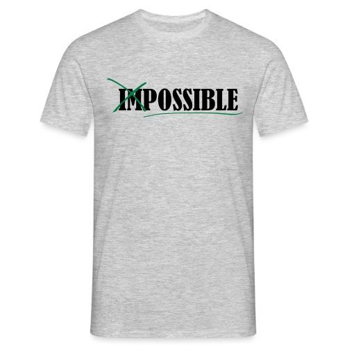 Im_Possible - Männer T-Shirt