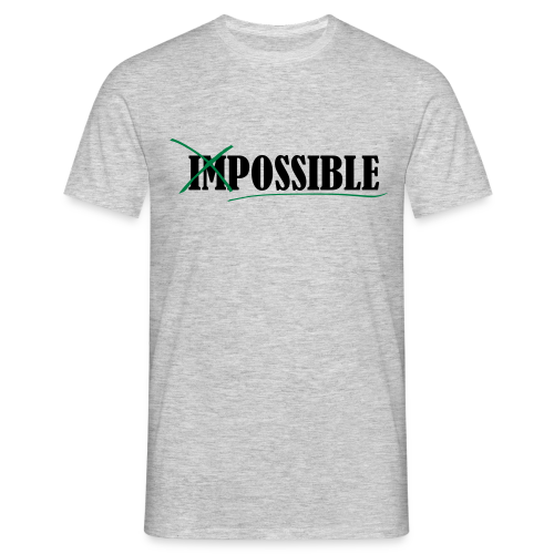 Im_Possible - Männer T-Shirt
