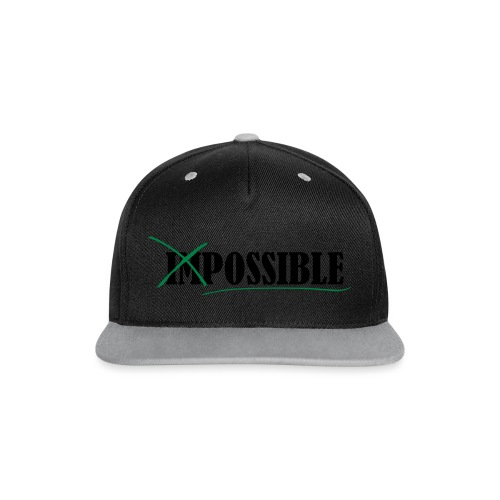 Im_Possible - Kontrast Snapback Cap